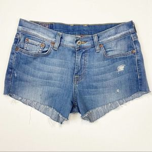 Lucky Brand | Hand Distressed Cut Off Shorts Sz 6